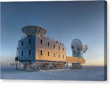 The Universe Canvas Print - Dark Sector Lab Telescopes by Nsf/steffen Richter/harvard University