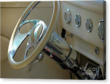 Canvas Print featuring the photograph Dashboard Glam by Christiane Hellner-OBrien