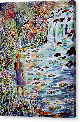 Daughter Of The River Canvas Print