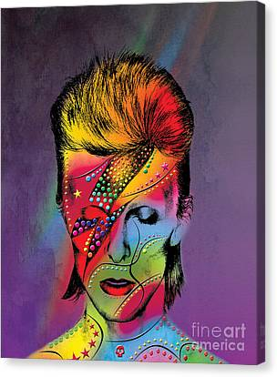 David Bowie Canvas Print by Mark Ashkenazi
