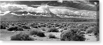 Panamint Valley Canvas Print - Death Valley Landscape, Panamint Range by Panoramic Images