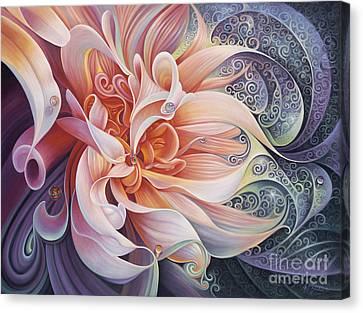 Delight Canvas Print by Ricardo Chavez-Mendez