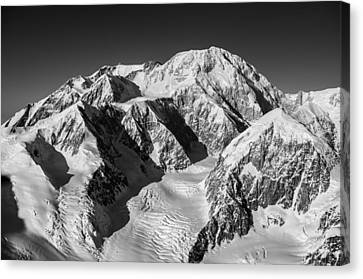 Denali - Mount Mckinley Canvas Print by Alasdair Turner
