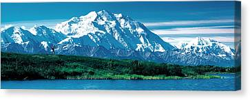 Denali National Park Ak Usa Canvas Print by Panoramic Images