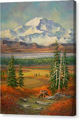 Denali Park  Canvas Print by Gracia  Molloy