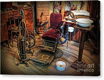 Dentist - The Dentist Office Canvas Print by Paul Ward