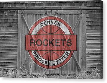 Denver Rockets Canvas Print by Joe Hamilton