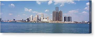 Detroit Mi Usa Canvas Print