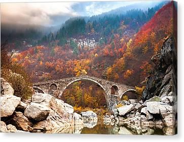 Devil's Bridge Canvas Print by Evgeni Dinev