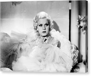 Dinner At Eight, Jean Harlow, 1933 Canvas Print