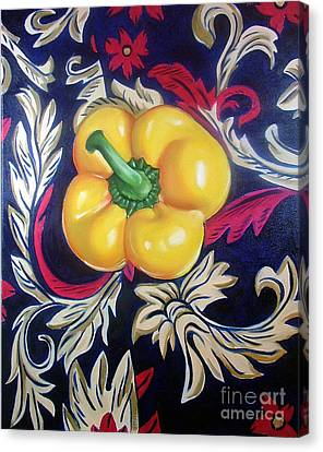 Dior's Pepper Canvas Print by Shelley Laffal