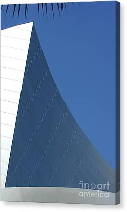 Disney Concert Hall 15 Canvas Print by Micah May