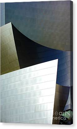 Disney Concert Hall 14 Canvas Print by Micah May