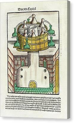 Distillation Apparatus Canvas Print