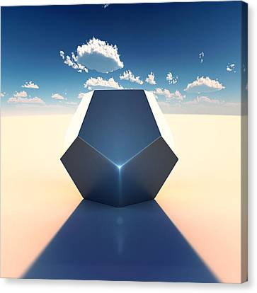 Science Fiction Canvas Print - Dodecahedron by Marc Orphanos