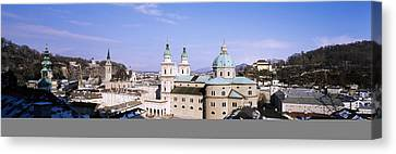 Dome Salzburg Austria Canvas Print by Panoramic Images