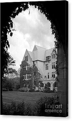 Dominican University Parmer Hall Canvas Print by University Icons