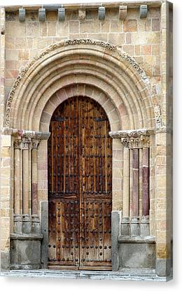Door Canvas Print by Frank Tschakert