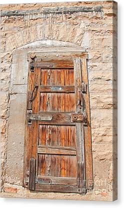 Door Series 1 Canvas Print by Minnie Lippiatt