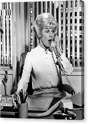 Doris Day In Lover Come Back  Canvas Print by Silver Screen