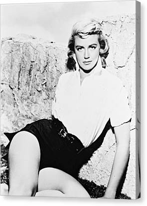 Dorothy Malone Canvas Print by Silver Screen