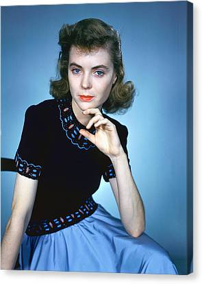 Dorothy Mcguire Canvas Print by Silver Screen