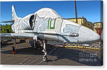 Douglas Skyhawk A-4f Canvas Print by Gregory Dyer