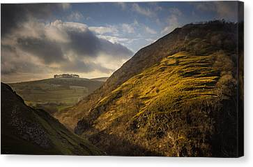 Dovedale Valley Canvas Print