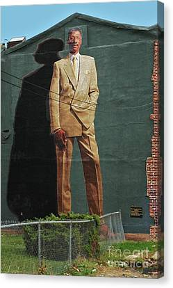 Dr. J. Canvas Print by Allen Beatty