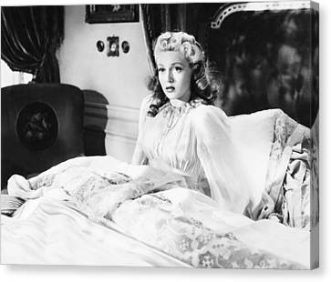 1941 Movies Canvas Print - Dr. Jekyll And Mr. Hyde, Lana Turner by Everett