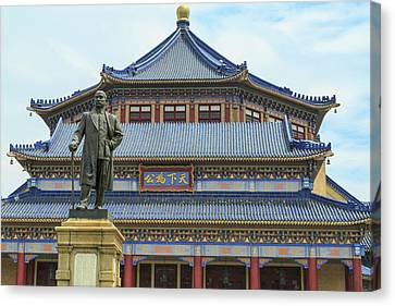 Memorial Hall Canvas Print - Dr Sun Yat-sen's Memorial Hall by Stuart Westmorland