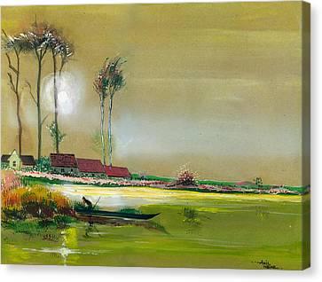 Dream Lake Canvas Print by Anil Nene
