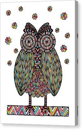 Dream Owl Canvas Print by Susan Claire