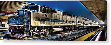 Dream Station Canvas Print by Andrew Raby