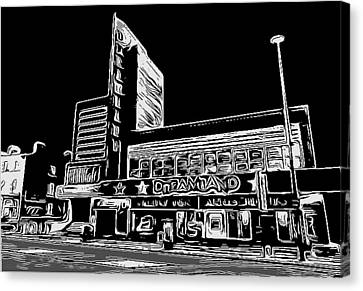 Lino Canvas Print - Dreamland Margate by Jeff Laurents