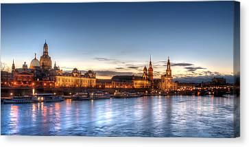 Dresden Skyline Canvas Print
