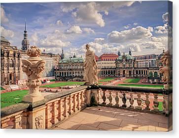 Dresden Zwinger Canvas Print