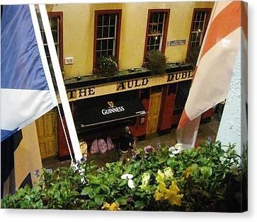 Dublin Pub Canvas Print by Tim Townsend
