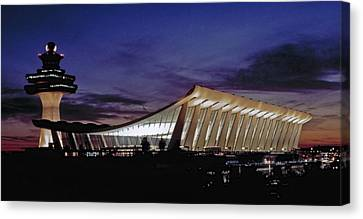 Dulles International Canvas Print by Greg Reed