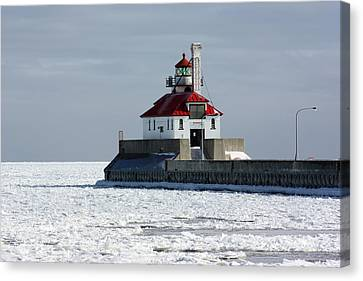 Duluth Harbor  Canvas Print by Amanda Stadther