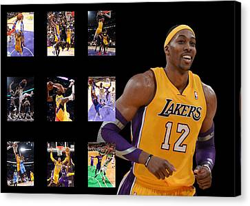 Dwight Howard Canvas Print