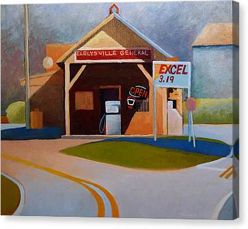 Earlysville General Store No. 2 Canvas Print by Catherine Twomey