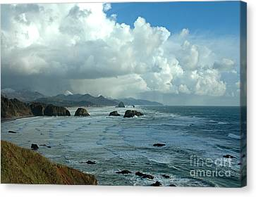 Ecola State Park Canvas Print by Nick  Boren