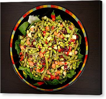 Edamame Salad Canvas Print by Science Source
