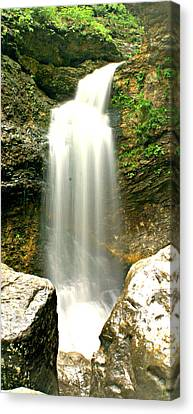 Eden Falls Tall Canvas Print by Marty Koch