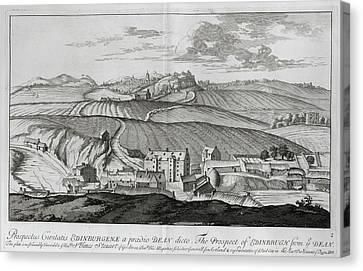 Edinburgh Canvas Print by British Library