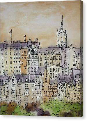 Edinburgh Scotland Canvas Print