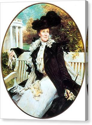 First Ladies Canvas Print - Edith Roosevelt, First Lady by Science Source