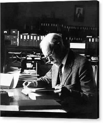 Edmund Wilson Canvas Print by American Philosophical Society
