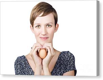 Frailty Canvas Print - Eggs And Heart Health by Jorgo Photography - Wall Art Gallery